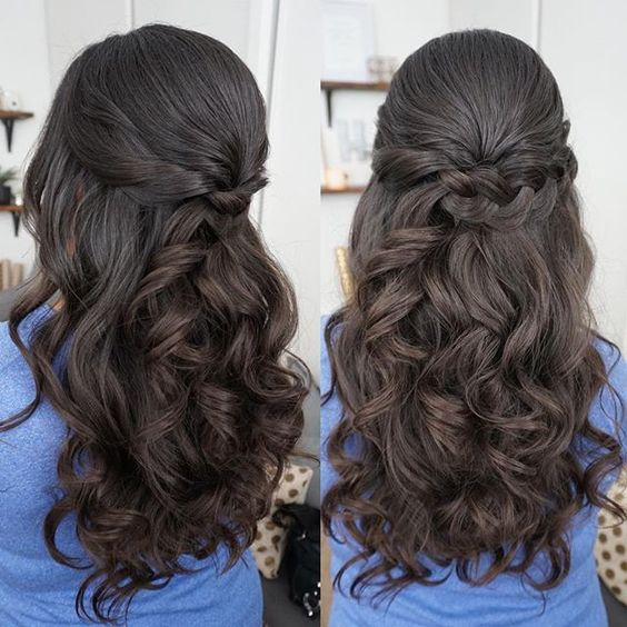 Hairstyles for 15-year-old godmothers | Ideas 2018 - 2019