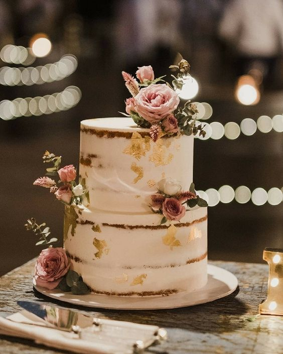 Naked Wedding Cakes- Rustic, Beautiful, Creative or Unique?