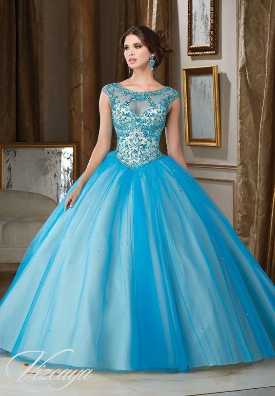 Vestidos De Quince Azul Turquesa Ideas Para Fiestas De