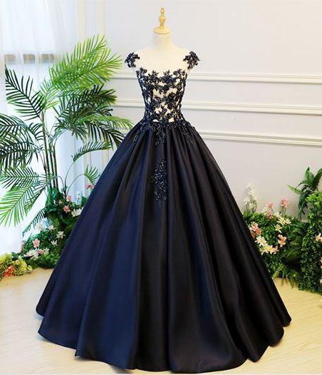 Vestidos de quinceañera negros