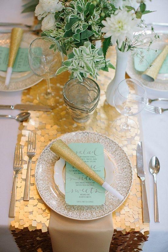 Como poner la mesa para Fiesta de Quinceañera