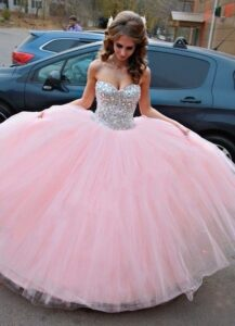 Vestidos de quince años en color rosa