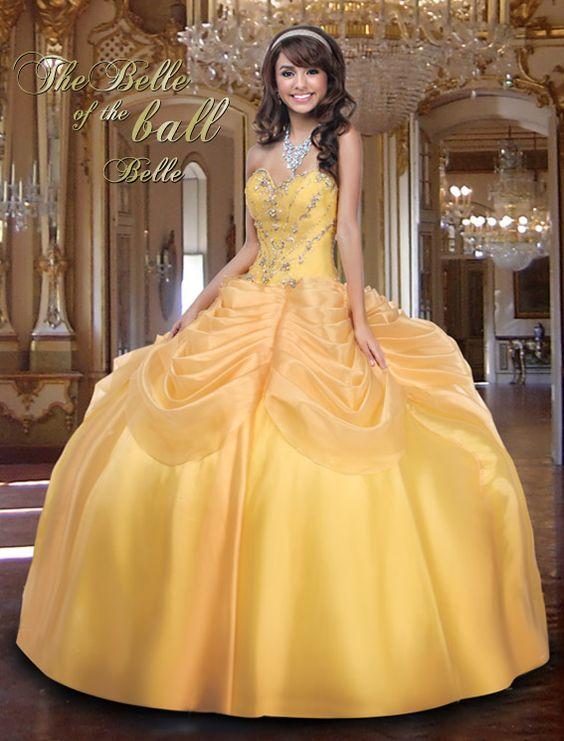 Ideas de vestido para quinceaneras color amarillo 12 for Ornamentacion para 15