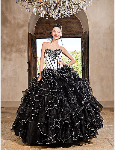 Vestidos xv color negro