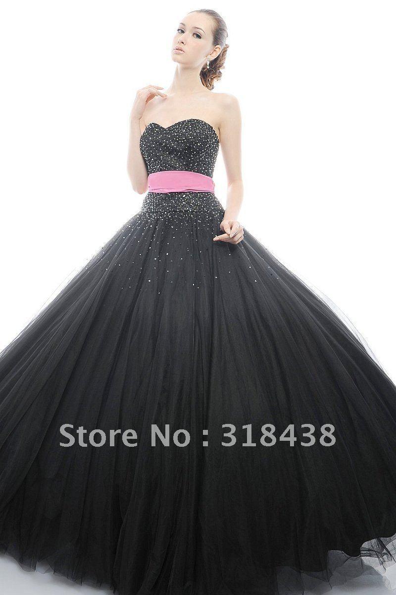 Vestidos Para Xv Anos En Color Negro 24 Ideas Para Fiestas
