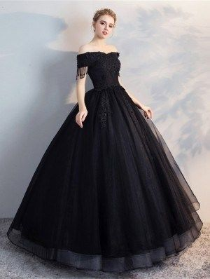 Vestidos para xv años en color negro
