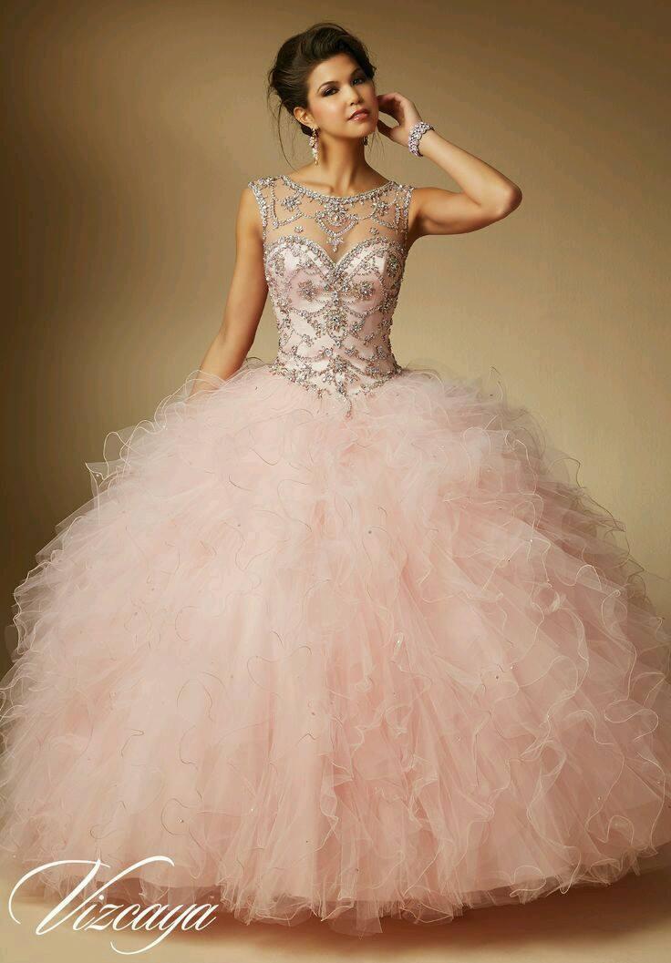 5a17f487b1 Vestidos de quinceañera hermosos y modernos - Ideas para Fiestas de ...