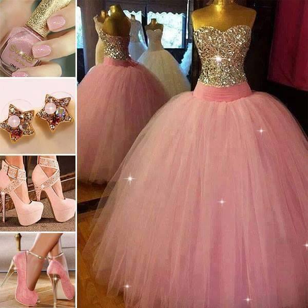 Vestido de color rosa - 1 part 9