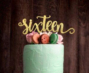 Pasteles para sixteen party
