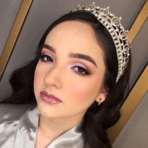Maquillaje para quinceañeras natural
