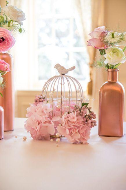 Quince años con detalles en rosa