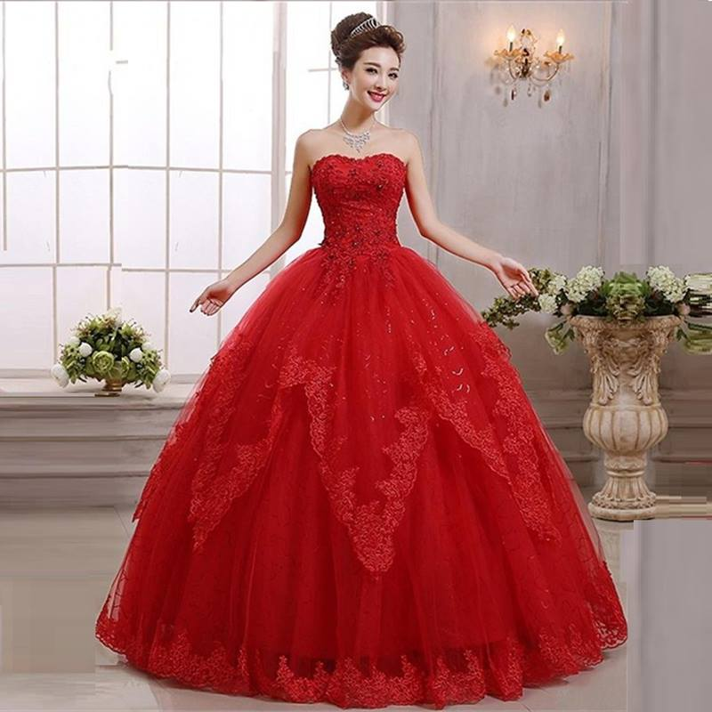 Vestidos Para Quince Años De Princesa Rojos 2019 2020