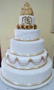 pasteles de quinceañera - pasteles de xv años modernos