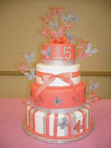 pasteles de xv años modernos