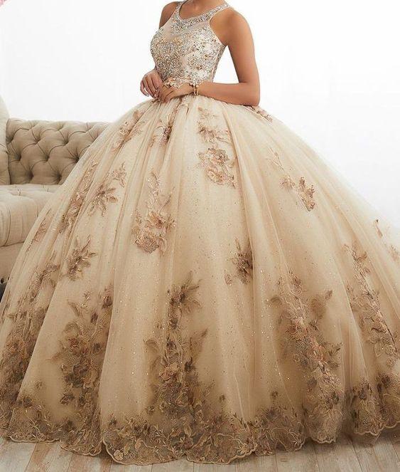 Fotos de tonos de vestidos de 15 años 2021 - 2022
