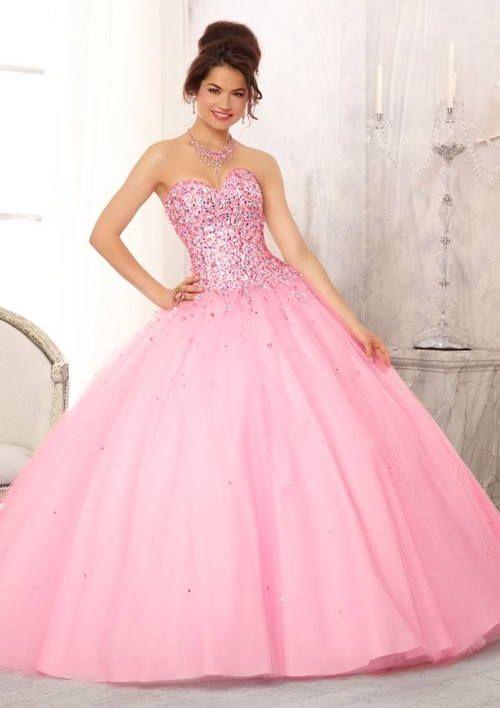 Vestidos de xv años estilo princesa - Ideas para Fiestas de ...