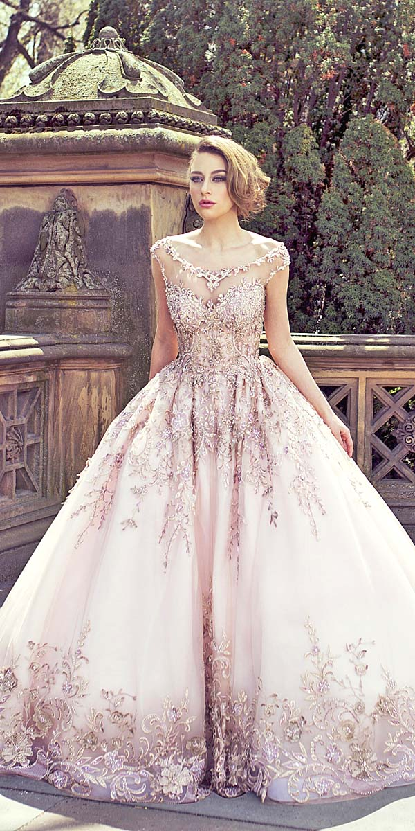 Vestidos de xv estilo princesa