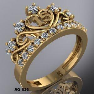 Pulseras y anillos para quinceañeras 2021 - 2022