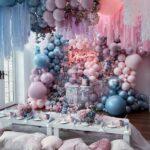 Decoración para xv años con globos