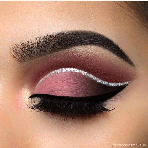 Maquillaje De Ojos Con Glitter Para Quinceaneras 2019 2020