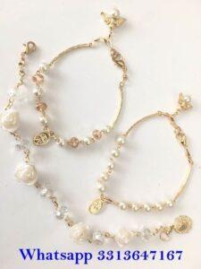 Diseños de pulseras elegantes para el look de la quinceañera