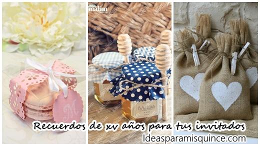 30f18f6e96 Recuerdos que deberías dar en tus XV años - Ideas para Fiestas de  quinceañera - Vestidos de 15 años invitaciones de quinceañera