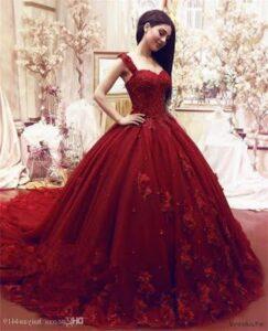 Vestidos de xv años color rojo