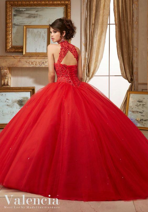Vestidos Xv Anos Color Rojo 15 Ideas Para Fiestas De