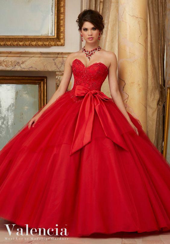 Vestidos Xv Anos Color Rojo 20 Ideas Para Fiestas De