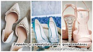 zapatos o zapatillas quinceañeras
