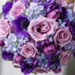 28 Ramos de xv años color lila