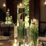 30 Ideas de centros de mesa con agua