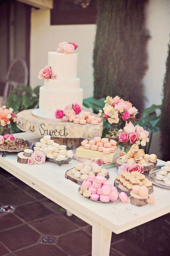 wedding cake table decoration photos 30 ideas decorar la mesa pastel 15 ideas para 26181