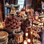 33 ideas de mesas de postres elegantes para xv años