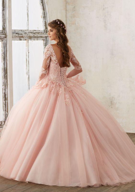 33 Vestidos Xv Anos Estilo Princesa 15 Ideas Para