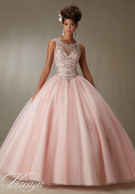 c80c9270cd9 Vestidos de xv años estilo princesa - Ideas para Fiestas de ...