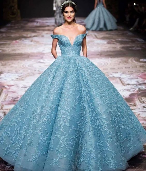 Vestidos estilo princesa largos