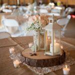 37 Centros de mesa con faroles para xv años