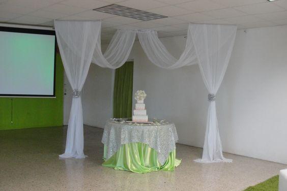 Decoracion fiestas xv anos telas 19 ideas para fiestas for Decoracion de 15 anos con telas