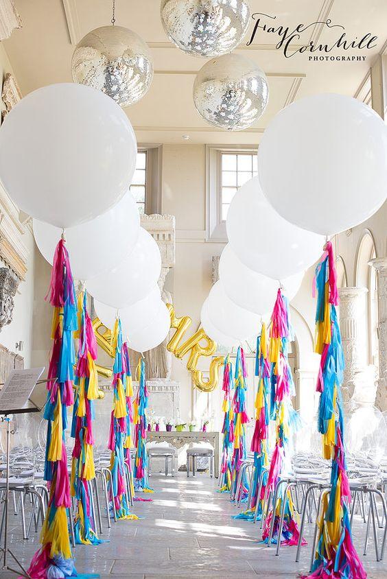 Diferentes ideas para decorar la entrada de tus XV años
