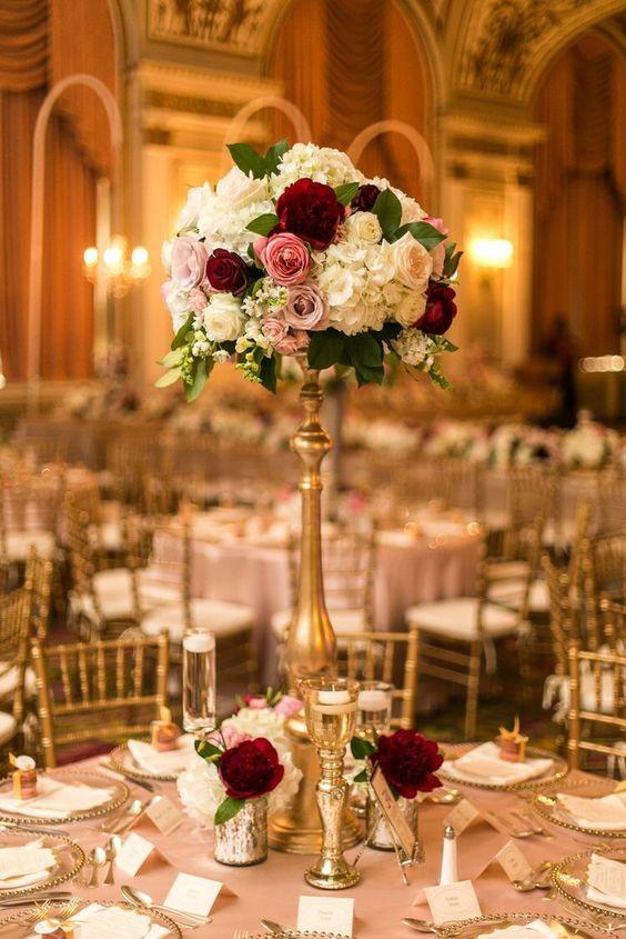 Disenos centros mesa diferentes estilos xv anos 12 - Las mesas fiestas 2017 ...