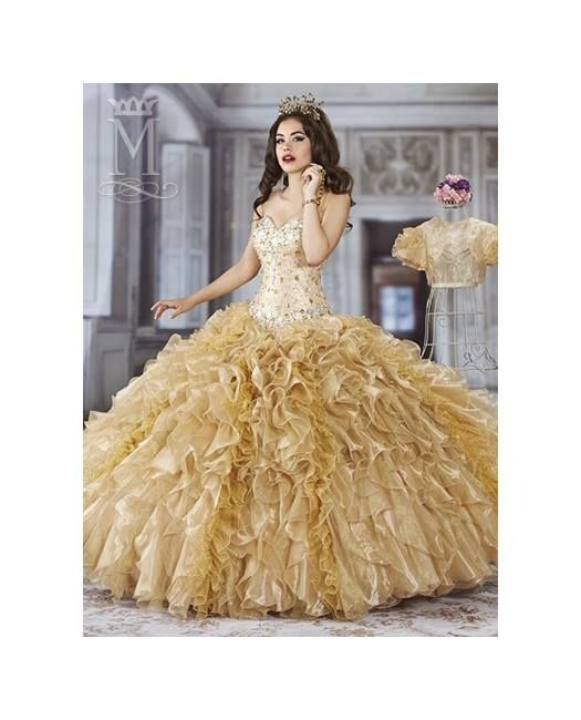 Vestido Color Azul Blanco Dorado Vestidos Elegantes Para