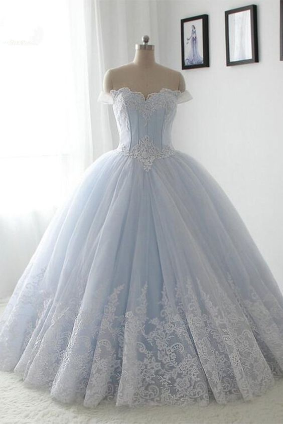 vestidos-xv-anos-azul-cielo (13) - Ideas para Fiestas de ...