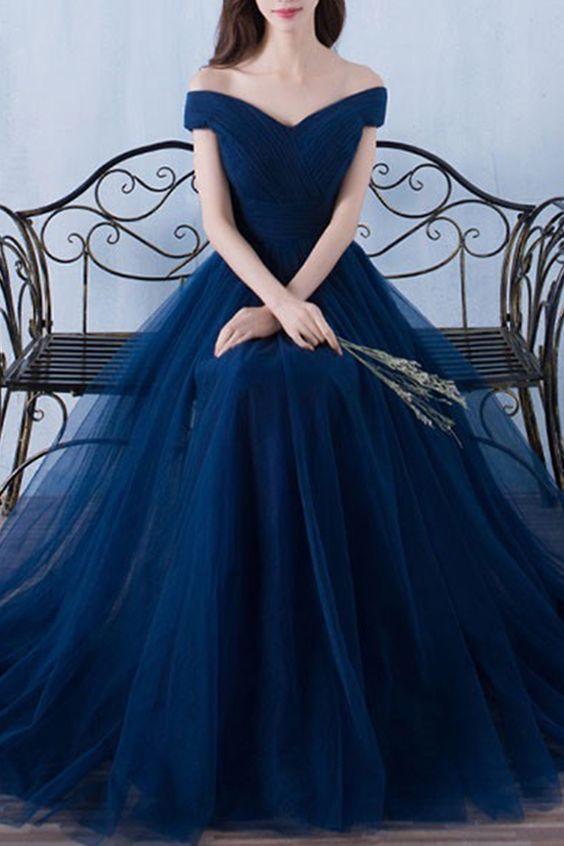f1baad2a01 30-vestidos-xv-anos-azul-marino-super-elegantes (20) - Ideas para ...
