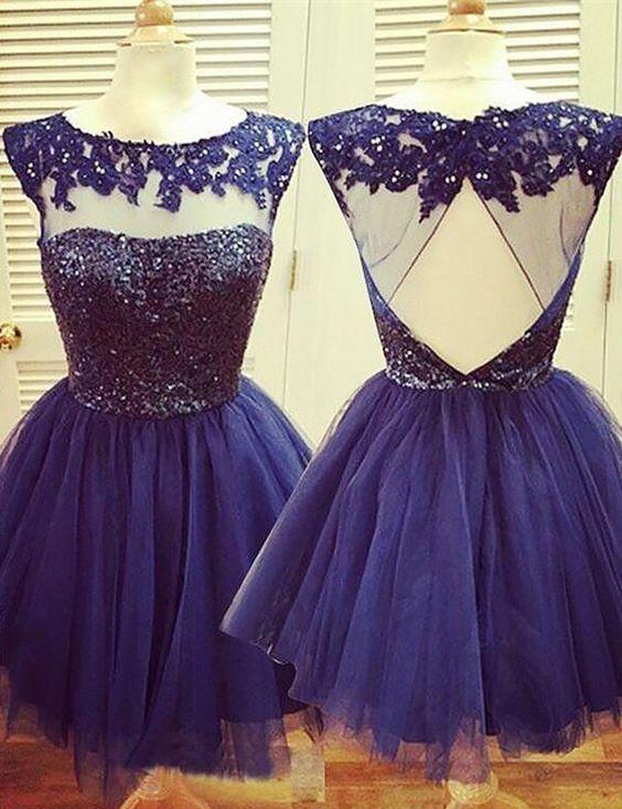 30 Vestidos Xv Anos Azul Marino Super Elegantes 26 Ideas