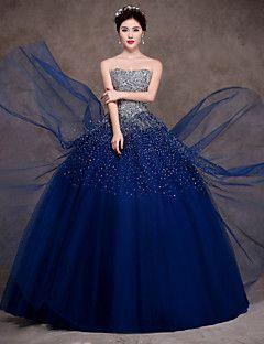 30 Vestidos Xv Anos Azul Marino Super Elegantes 4 Ideas