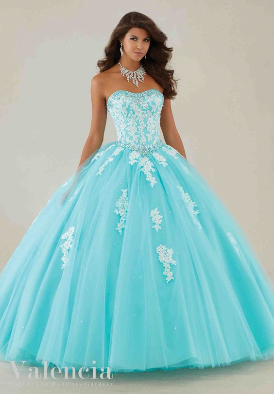 33 Vestidos Xv Anos Color Aqua 31 Ideas Para Fiestas
