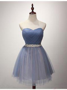 b3ace06d6c 34-vestidos-cortos-diferentes-colores-xv-anos (14) - Ideas para ...