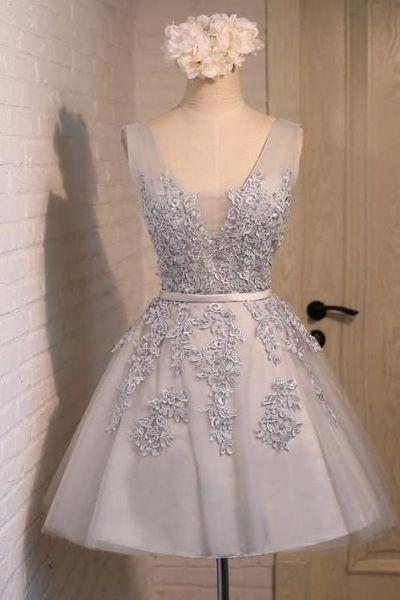 93e7223624 34-vestidos-cortos-diferentes-colores-xv-anos (5) - Ideas para ...
