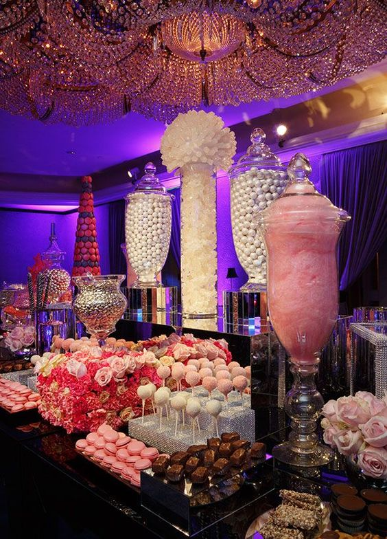 42 ideas mesas dulces perfectas xv anos 13 ideas para for Decoracion xv anos 2017